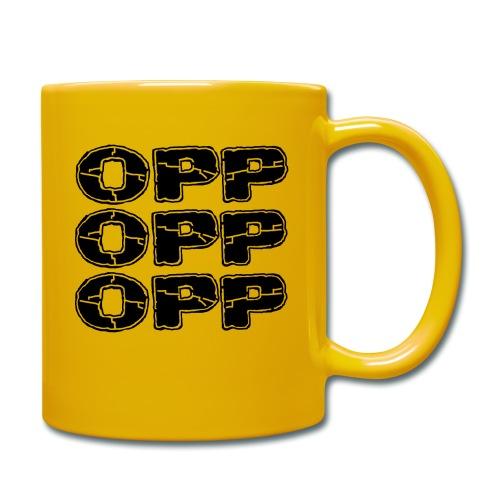 OPP Print - Yksivärinen muki