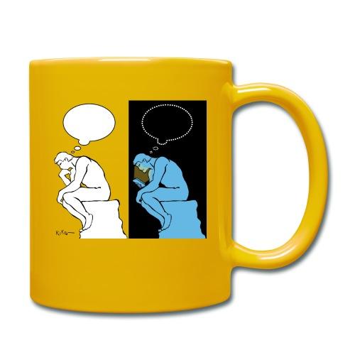 The Thinker - Full Colour Mug