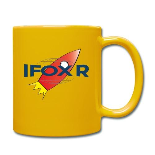 IFOX ROCKET - Enfärgad mugg