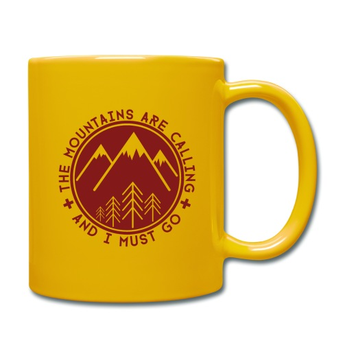 The Mountains are Calling - Full Colour Mug