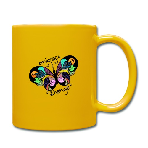 Embrace Change Butterfly - Full Colour Mug