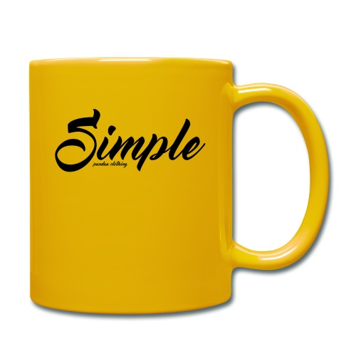 Simple: Clothing Design - Full Colour Mug