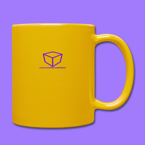 curtdoespcgaming logo #2 - Full Colour Mug