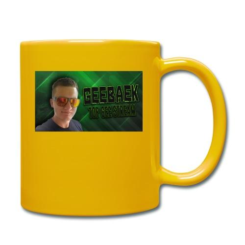 Geebaek - Ensfarvet krus
