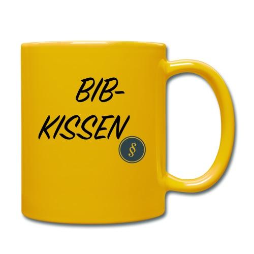BIB-KISSEN - Tasse einfarbig