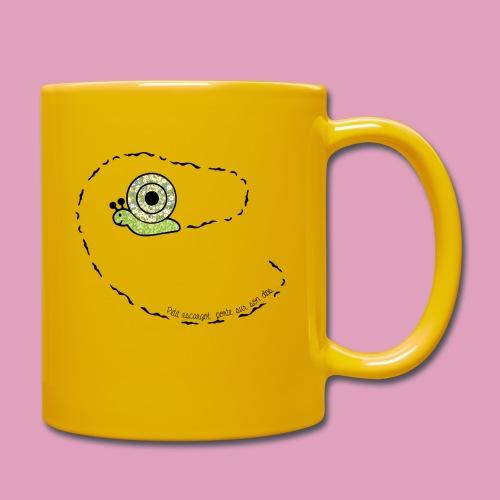 Petit escargot porte sur son dos... (Tasse) - Mug uni
