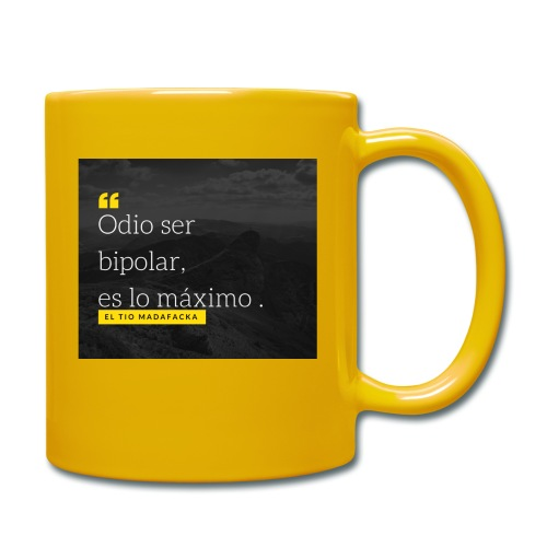 Odio ser - Taza de un color