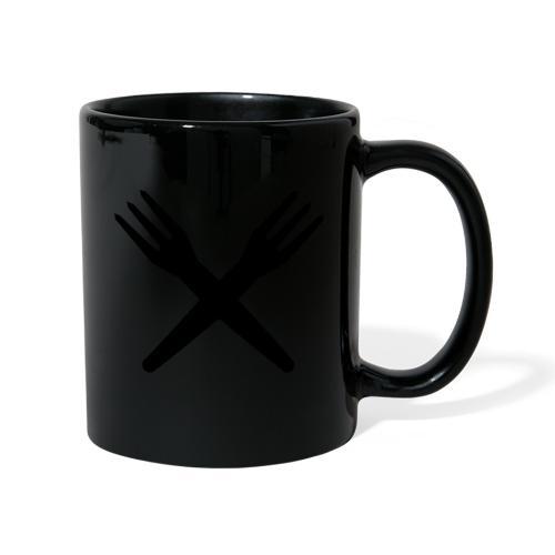 gekruiste frietvorken - trident - Mug uni