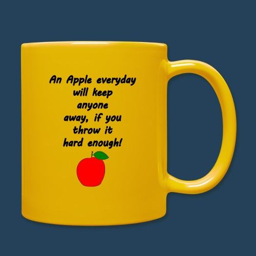 Apple Doctor - Tasse einfarbig
