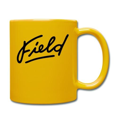 Field Interactive Logo - Tasse einfarbig