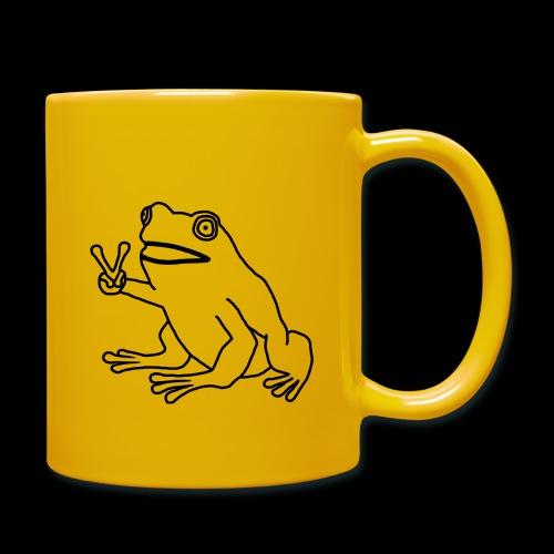 Funny Animal Frog Frosch - Tasse einfarbig