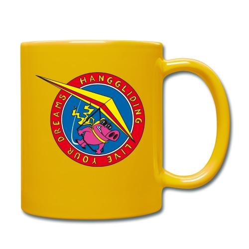 hanggliding pig - Full Colour Mug