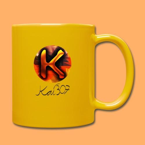 Kai_307 - Profilbild + Unterschrift Schwarz - Tasse einfarbig