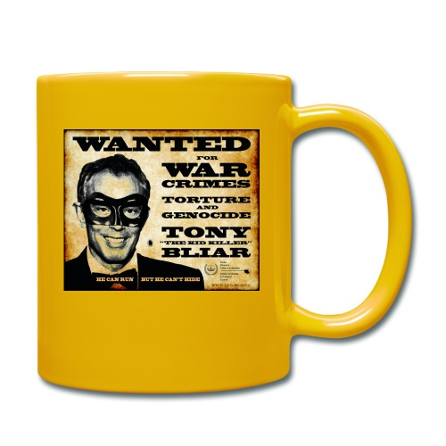 Wanted - Full Colour Mug