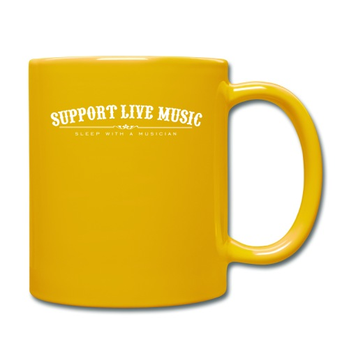 Support Live Music - sleep with a musician - Full Colour Mug