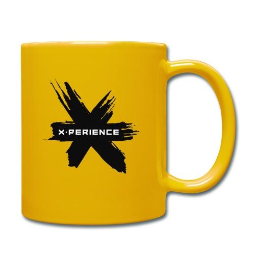 x-perience - Das neue Logo - Tasse einfarbig
