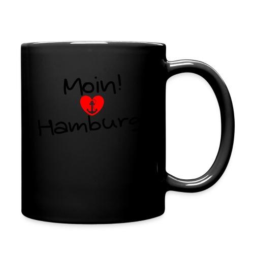 Moin Hamburg - Tasse einfarbig