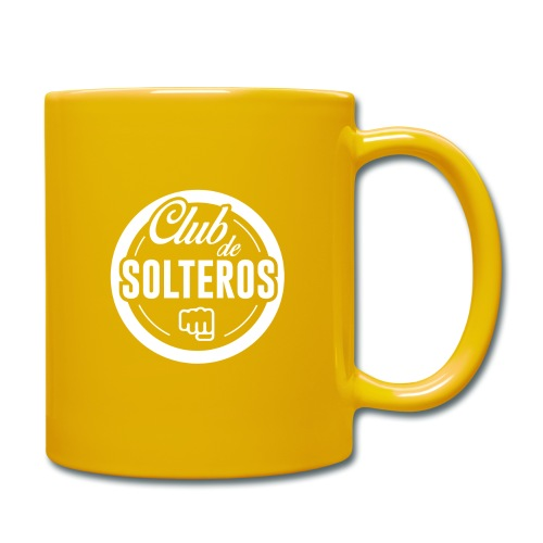 Club de Solteros (logo blanco) - Taza de un color