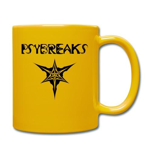 Psybreaks visuel 1 - text - black color - Mug uni