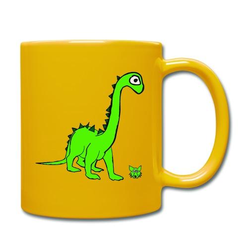 dinosauro - Tazza monocolore