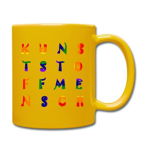 KunstStoffMensch #6 - Rainbow Edition - Tasse einfarbig