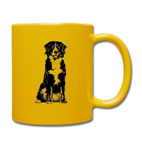 Berner Sennenhund Hunde Design Geschenkidee - Tasse einfarbig