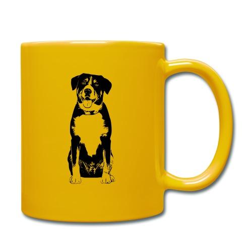 Entlebucher Sennenhund Hunde Design Geschenkidee - Tasse einfarbig