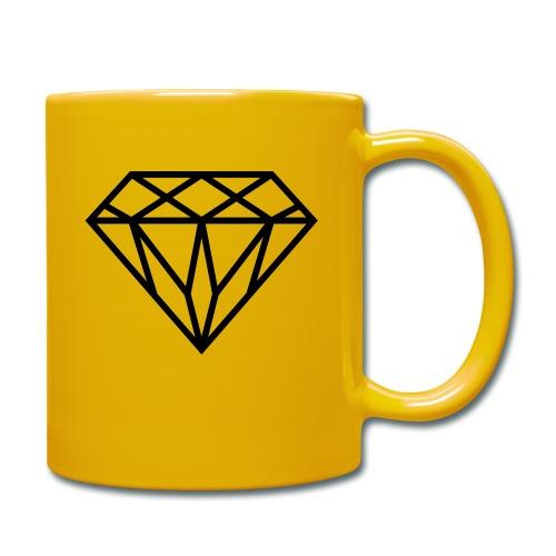Diamond Graphic // Diamant Grafik - Tasse einfarbig