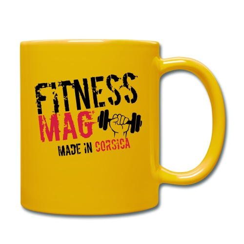 Fitness Mag made in corsica 100% Polyester - Mug uni