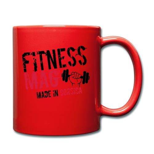Fitness Mag made in corsica 100% Polyester - Mug uni