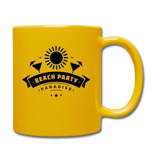 Beach party paradise - Yksivärinen muki