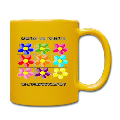 logo of my #MultiDimensionalMotors blog - Tazza monocolore