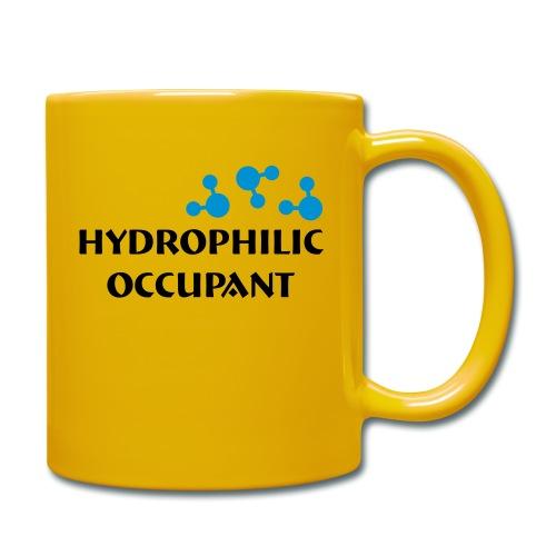 Hydrophilic Occupant (2 colour vector graphic) - Full Colour Mug