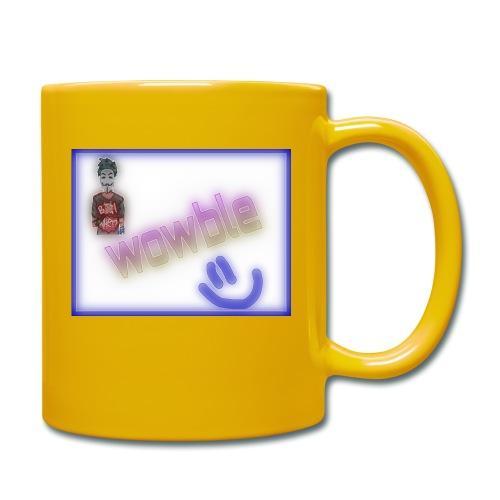 wowble er en kanal forbundet med galskap og yaa - Ensfarget kopp