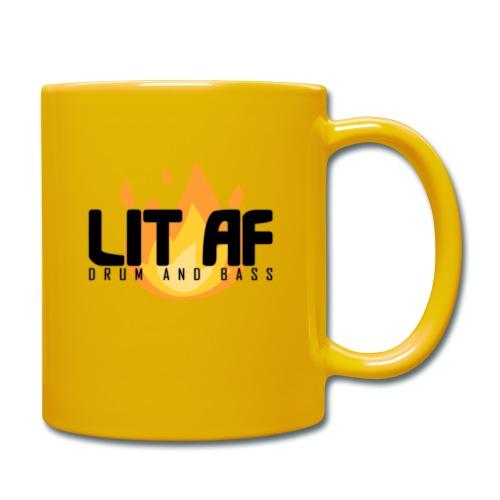 LIT AF Drum and Bass - Tasse einfarbig