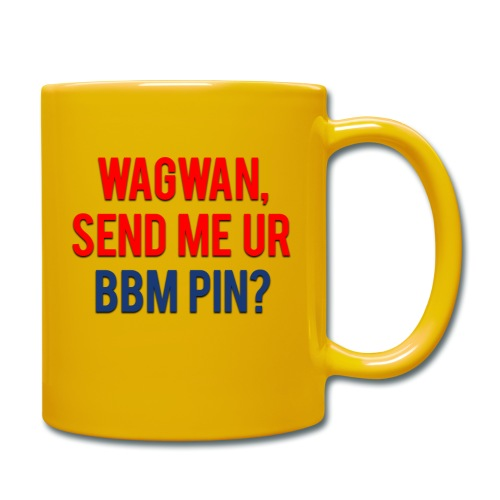 Wagwan Send BBM Clean - Full Colour Mug