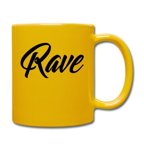 Rave - Tasse einfarbig