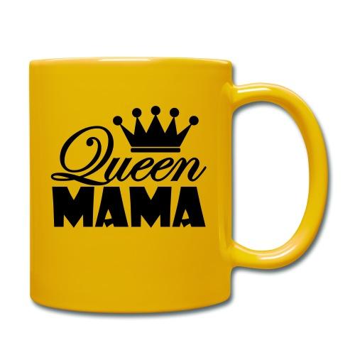 queenmama - Tasse einfarbig