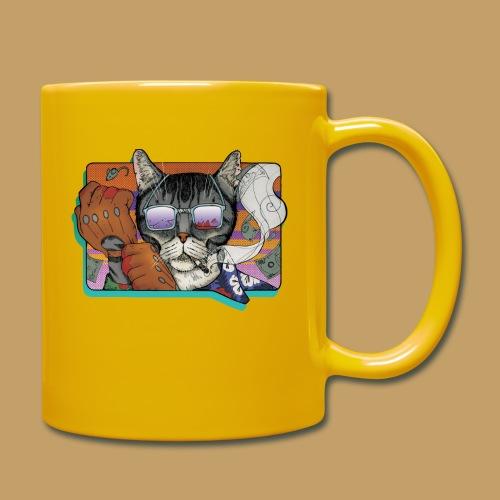 Crime Cat in Shades - Kubek jednokolorowy