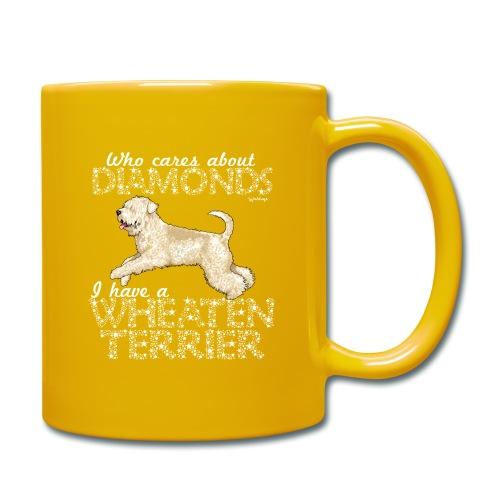 Wheaten Terrier Diamonds 4 - Full Colour Mug