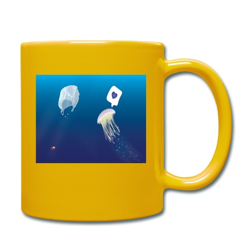 Meduse in Love - Mug uni