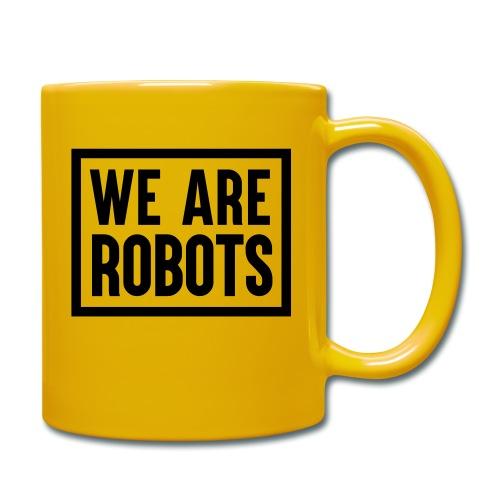 We Are Robots Premium Tote Bag - Full Colour Mug