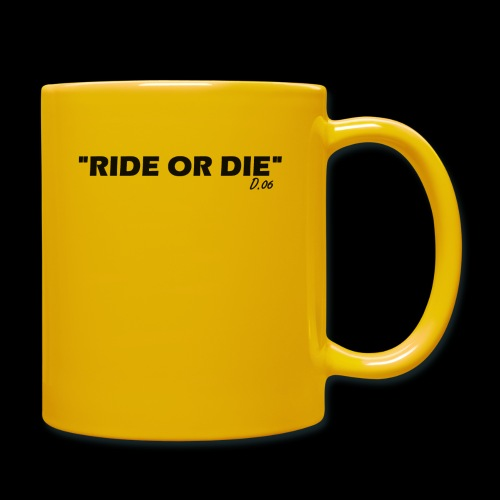 Ride or die (noir) - Mug uni