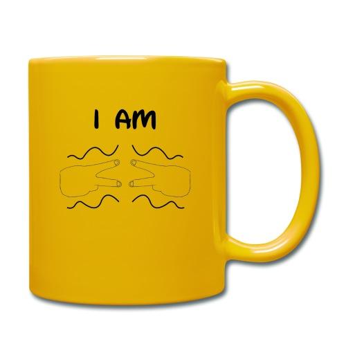 I Am Autism (Black) - Full Colour Mug
