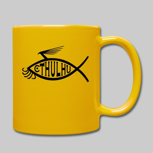 Cthulhu Fisch nP - Tasse einfarbig