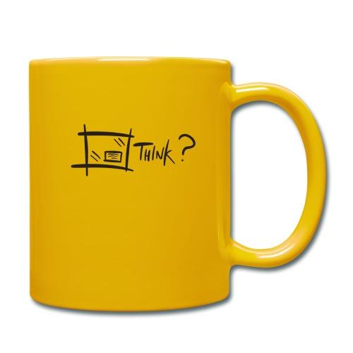 Think Outside The Box - Full Colour Mug