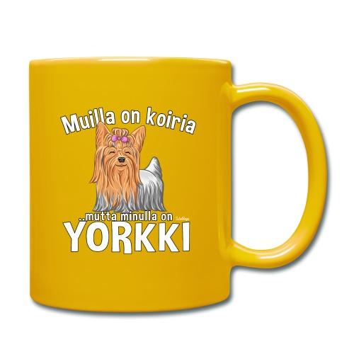 Yorkki Koiria - Yksivärinen muki