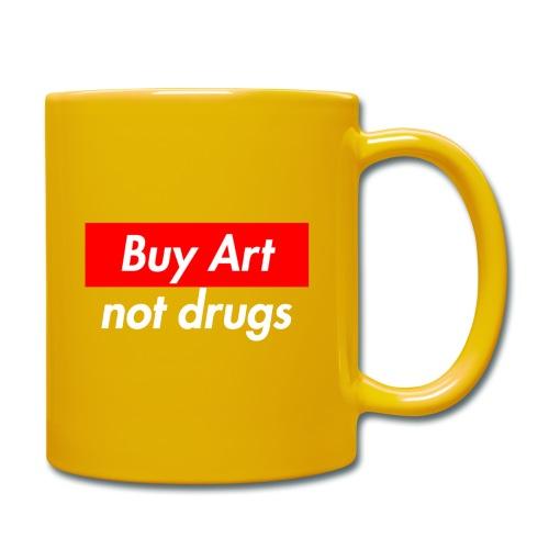 Buy Art Not Drugs - Yksivärinen muki