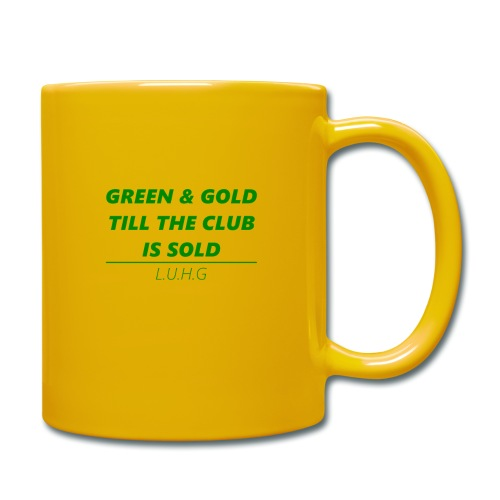Green & Gold - United - Tasse einfarbig