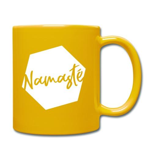 Namaste - Tasse einfarbig